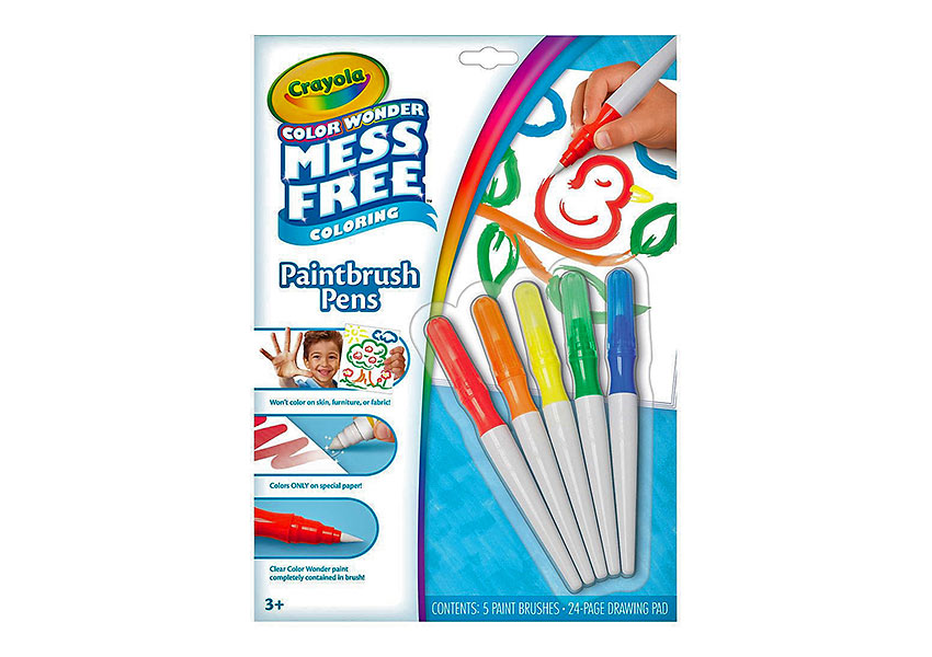 Crayola Color Wonder markers/paintbrush pens