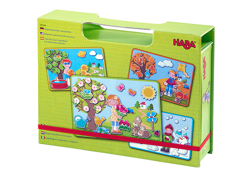 HABA the Seasons Magnetic Box magnet case