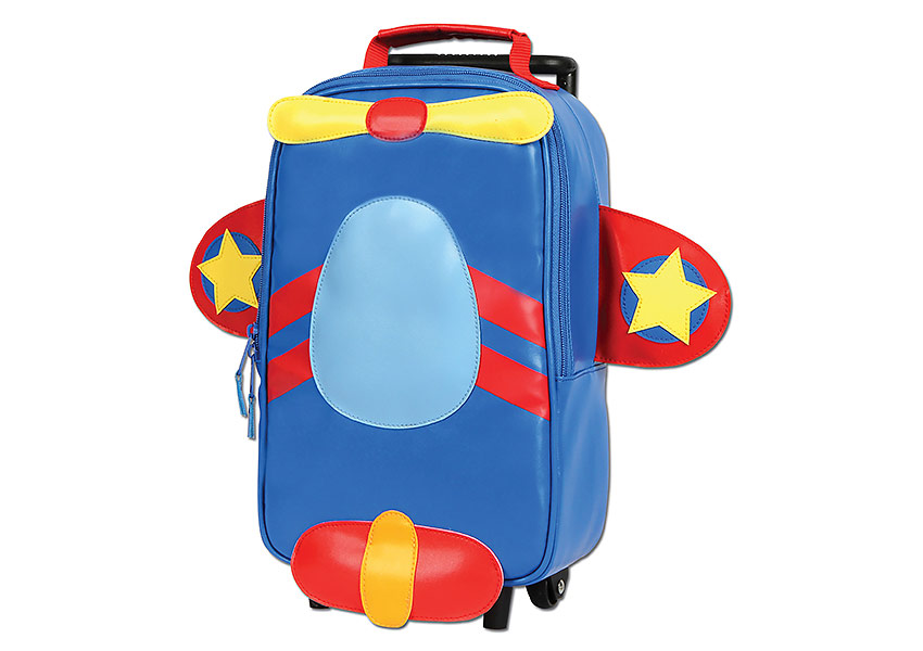 Stephen Joseph's kids suitcase that converts into a backpack