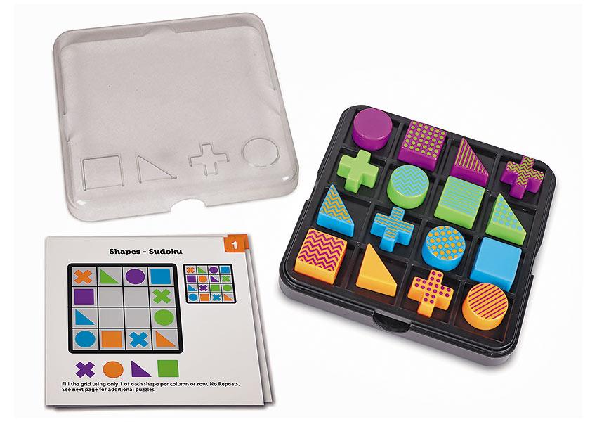 the 16-piece puzzle Mental Blox