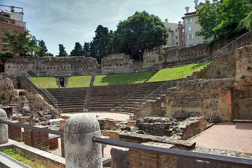 Trieste's Roman amphitheater