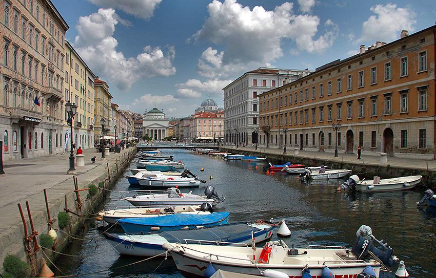 the Canal Grande di Trieste
