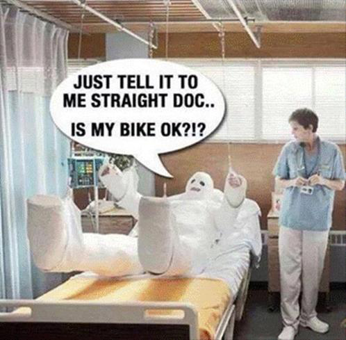 Parting Shot: Is my bike ok?