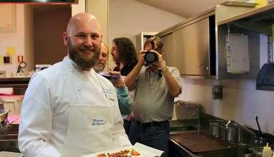 Maestro Ivan Bombieri, Chef at Risotrante La Taverna