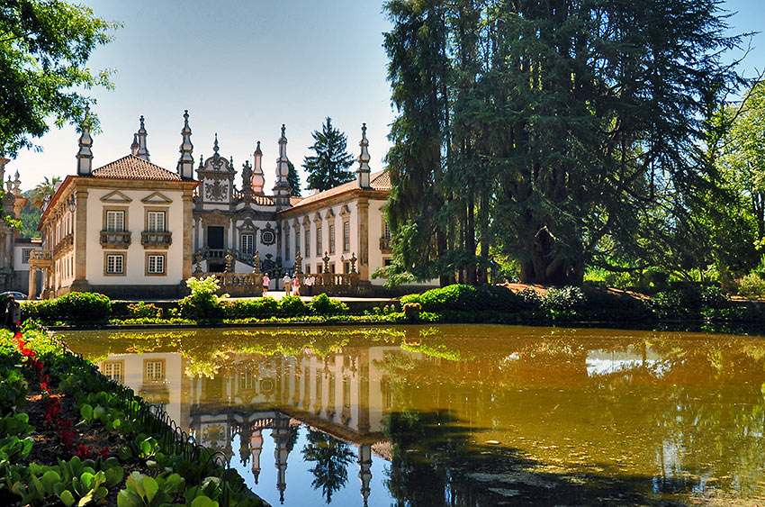 the 18th-century Mateus Palace, Vila Real