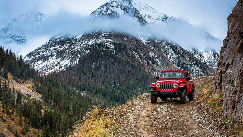 2018 Jeep Wrangler offers legendary off-road capability