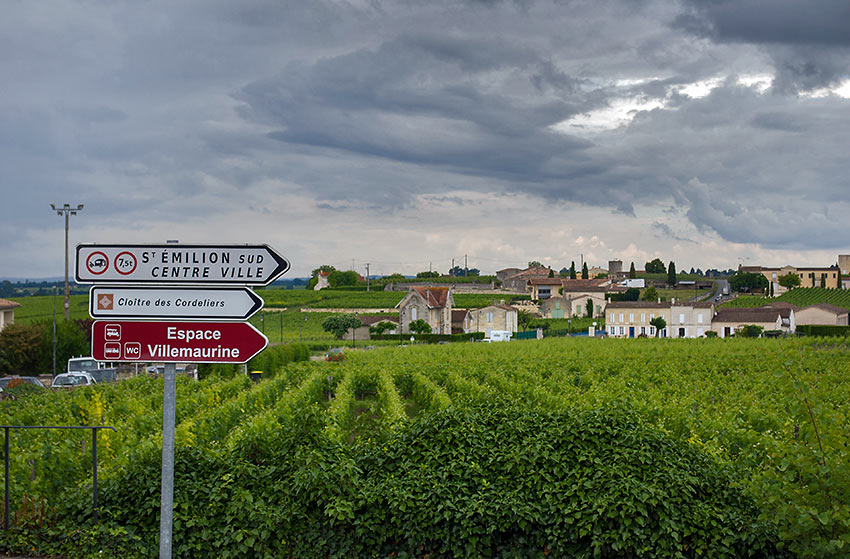 St. Emilion wine village, Bordeaux