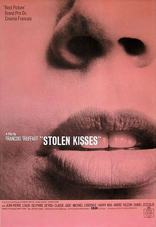 Stolen KIsses movie poster