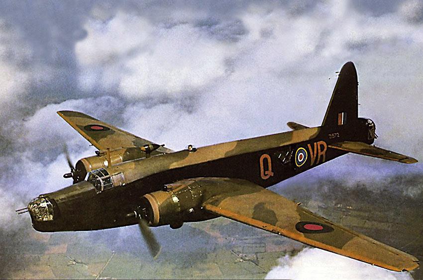 RAF Vickers Wellington bomber