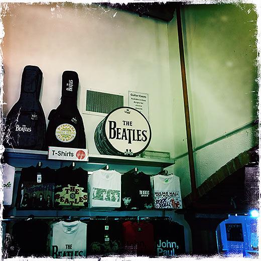 the Beatles Story Museum at Albert Dock