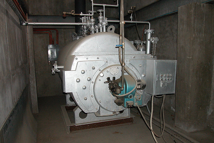 boiler initially used for making liquid goat