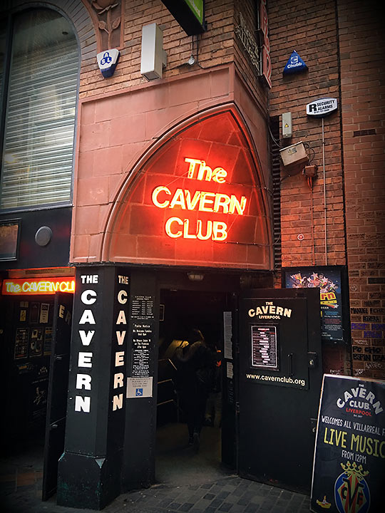 the Cavern Club today