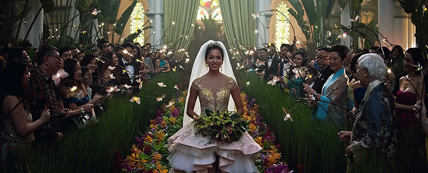 a scene from the movie Crazy Rich Asians