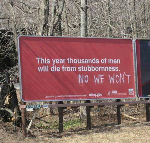 Parting Shot: Death From Stubbornness