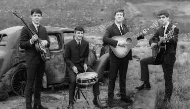 early photo of the Beatles