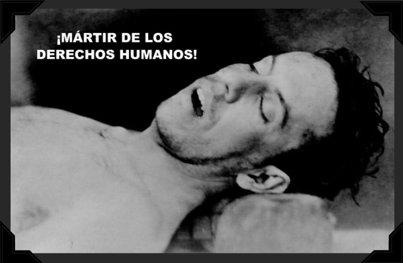 Padre Pro's lifeless body