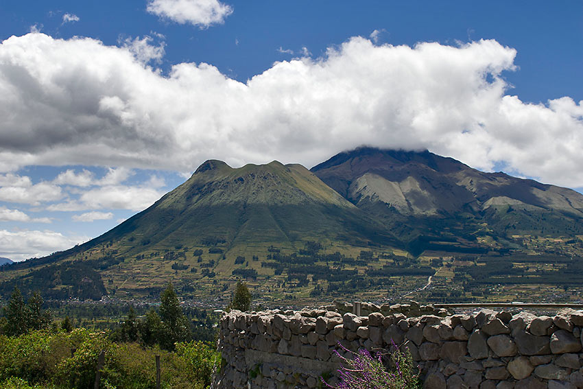 the Pasochoa Volcano near Quito, Ecuador