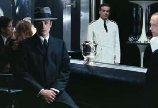 Alain Delon in a scene from Le Samourai