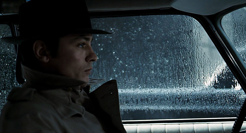 Alain Delon as contract killer Jef Costello in Le Samourai