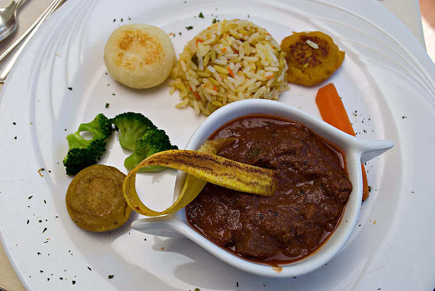 classic dish from the Andean Highlands prepared by Chef Flores, La Mirage Garden Hotel & Spa