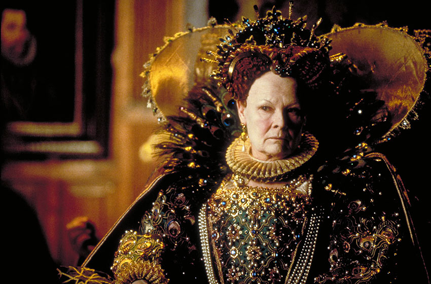 Dame Judi Dench as Queen Elizabeth in 'Shakespeare in Love'