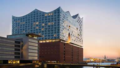 building housing both the Elbephilharmonie and Westin Hotel, Hamburg