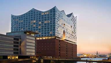 building housing both the Elbephilharmonie and Westin Hotel, Hamburg