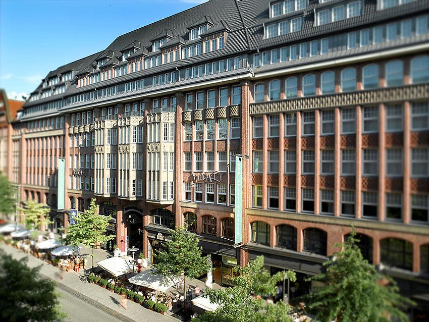 Park Hyatt Hamburg exterior view
