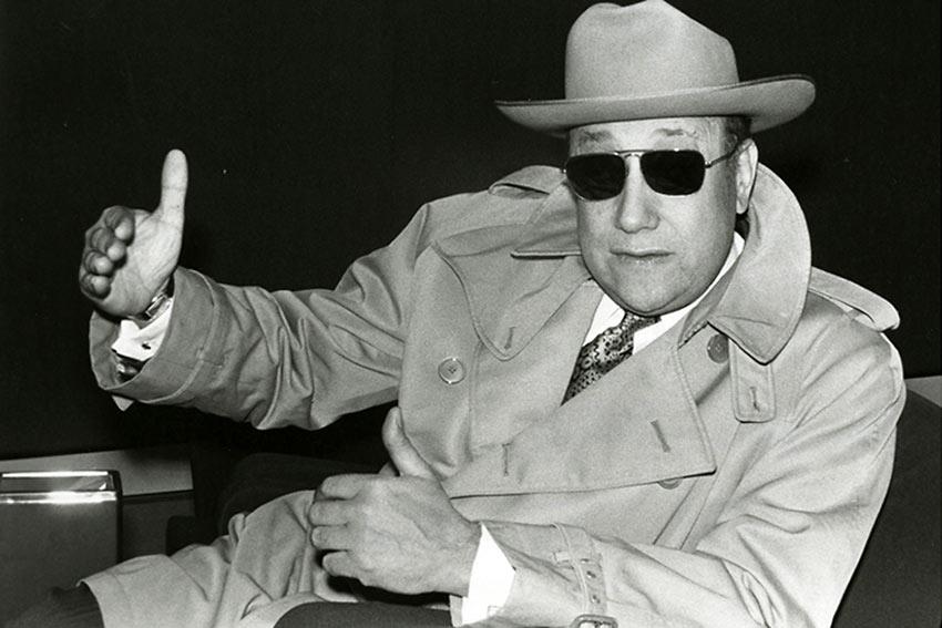 French filmmaker Jean-Pierre Melville