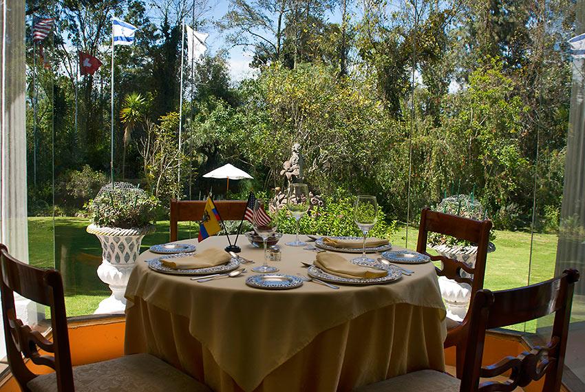 dining table at La Mirage Garden Hotel & Spa