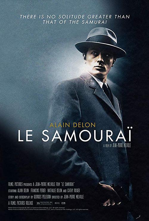 Melville's Le samouraï  movie poster