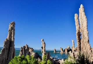 tufa towers at Mono Lake, Lee Vining, California