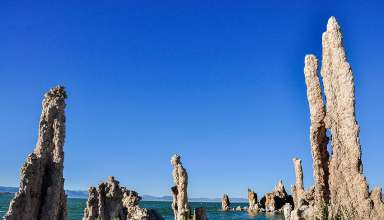 tufa towers at Mono Lake, Lee Vining, California