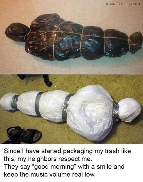Parting Shot: Packaging Trash