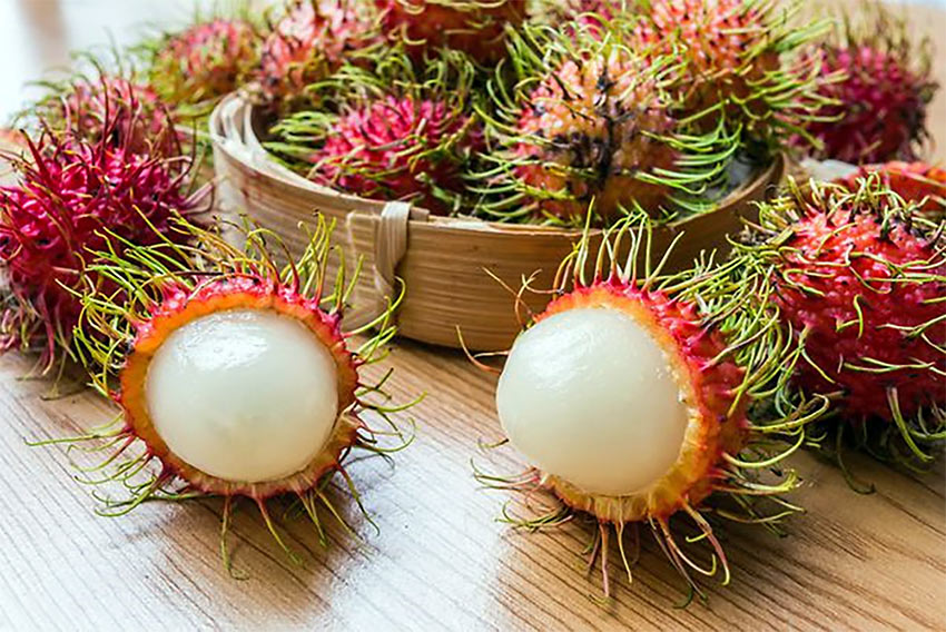health foods: rambutan fruit