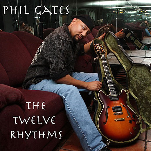 CD cover for Phil Gates' The Twelve Rhythms