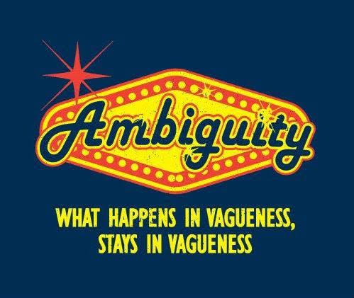 Don's Puns: Ambiguity