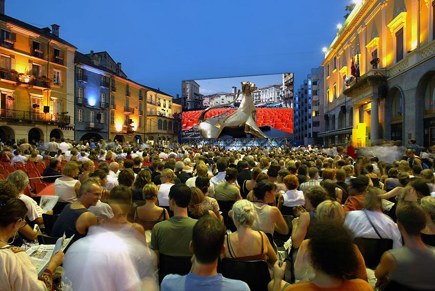 crowd at the Locarno Festival