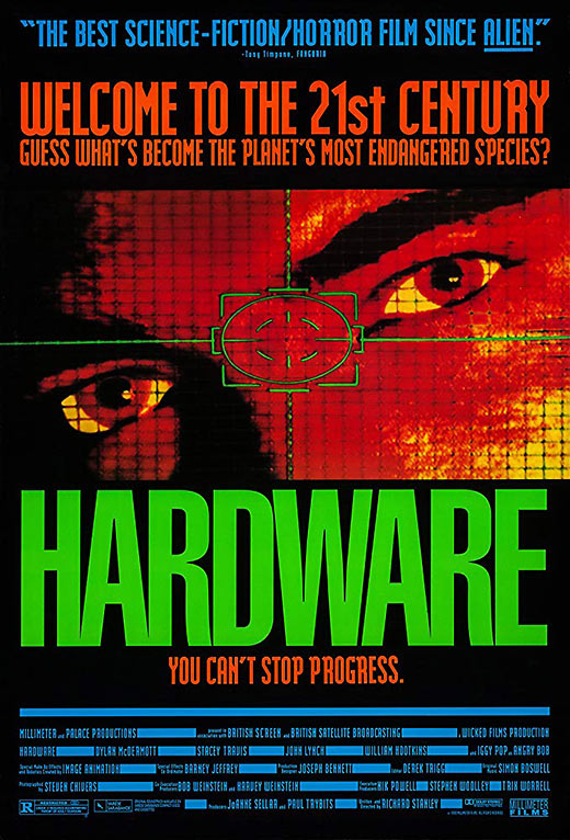 poster of the movie 'Hardware'