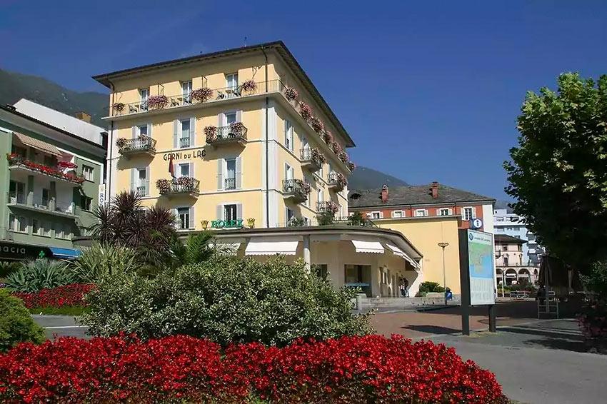 the Hotel Garni du Lac, Locarno