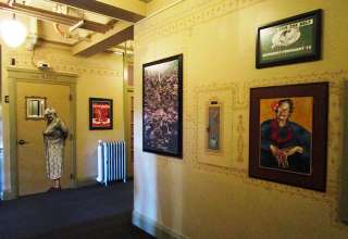 one of the hallways at the McMenamins Grand Lodge