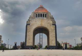 about Mexico city: the Monumento a la Revolución