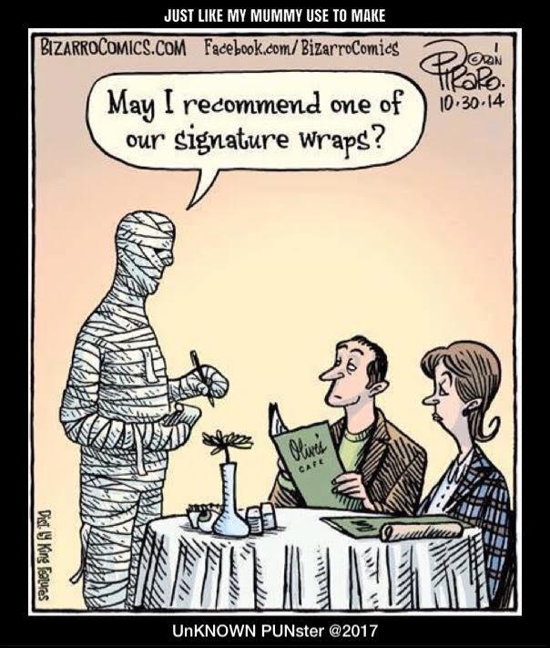 Don's Puns: Signature Wraps
