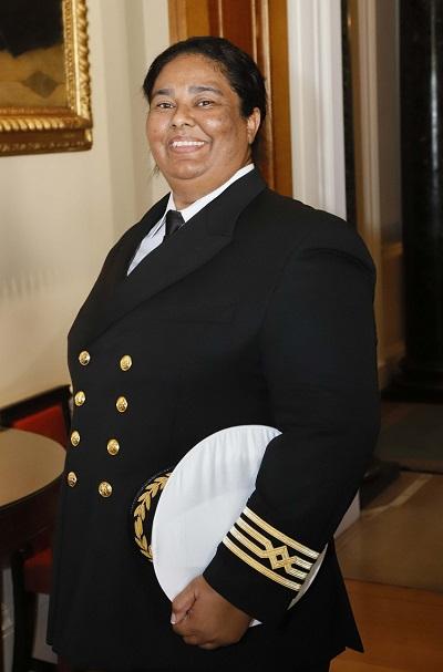 Captain Belinda Bennett of Windstar Cruises