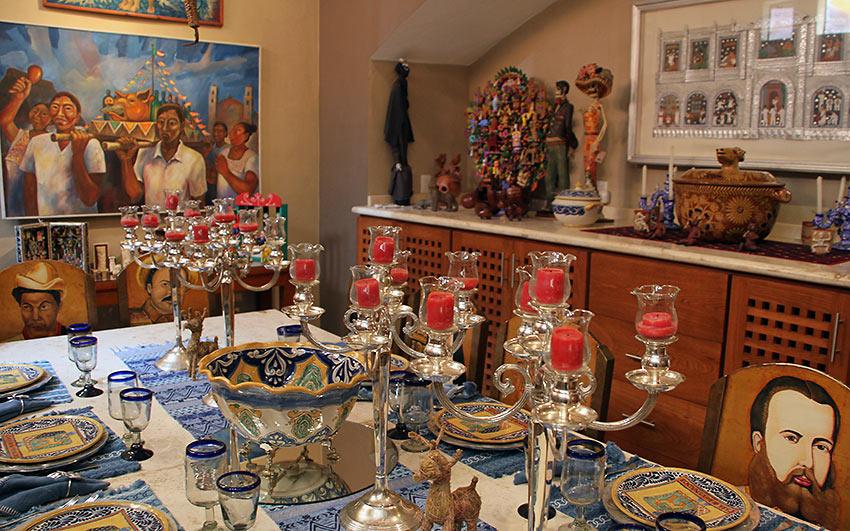 Mexican art and artifacts at Casa de los Venados