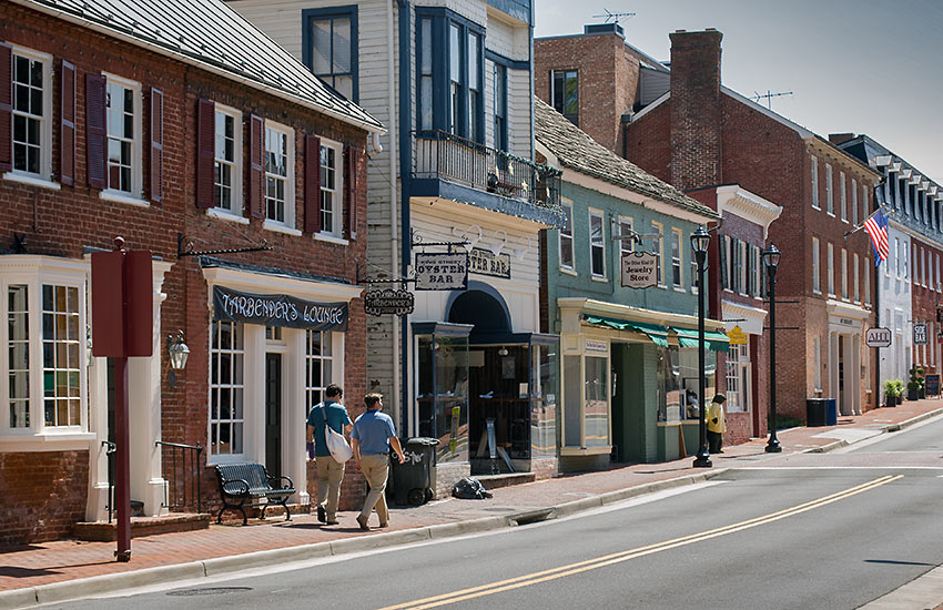 the Village of Leesburg's Historic District