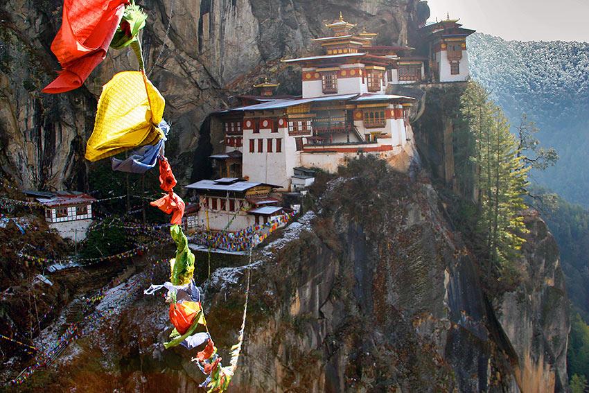 Tiger's Nest temple complex, Bhutan