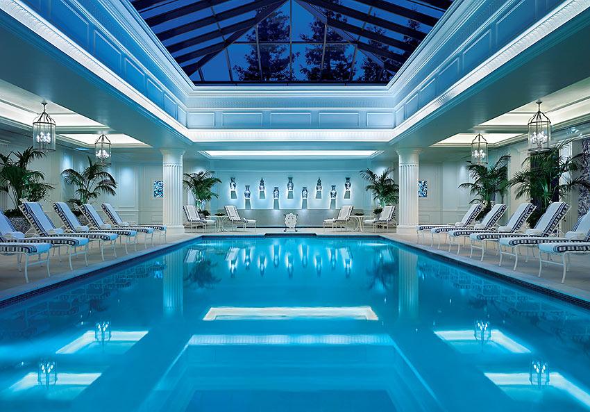 pool inside the Four SeasonsHotelWestlake Village