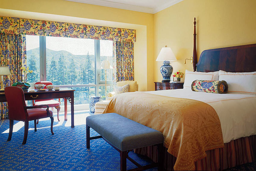 a room at the Four Seasons Hotel Westlake Village