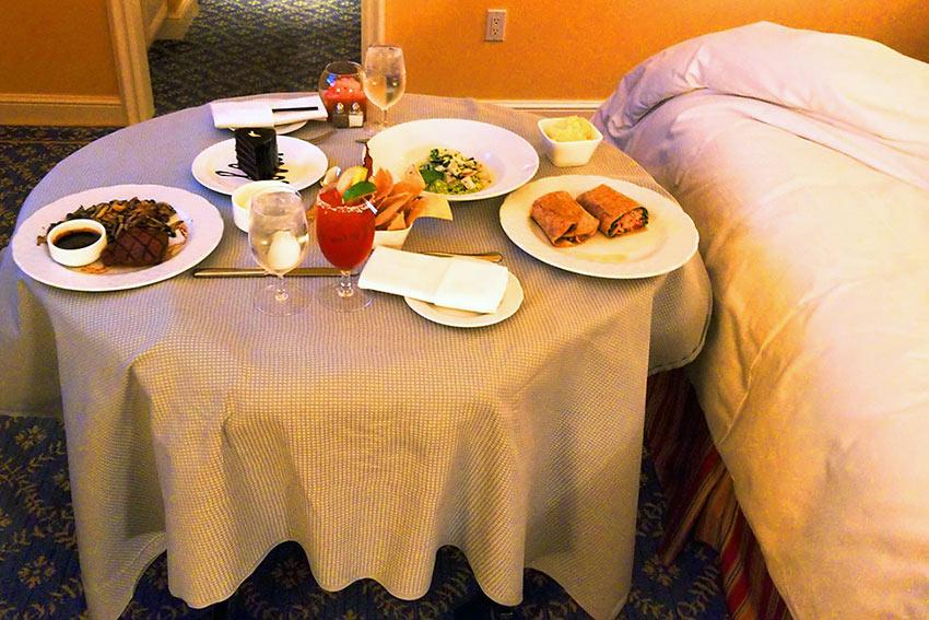 room service at the Four SeasonsHotelWestlake Village